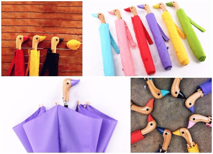 Es perfecto tanto para chicas y chicos como para niños (Aliexpress). Referencia: Yesello Cute Wood Duck Handle Craft Rain/ Precio: 11,80 euros.
