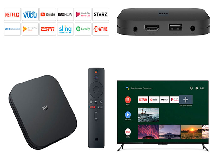 Xiaomi mi TV Box S 4K HDR Android TV por 54,24 euros (es.aliexpress.com)